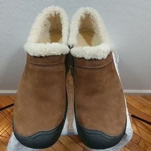 Keen Brown Suede Shoes Size 7.5
